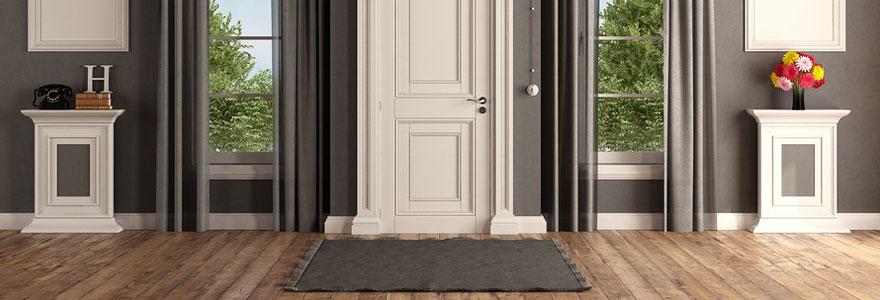 Le tapis d'entrée